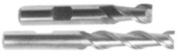 two flute end mill for aluminium