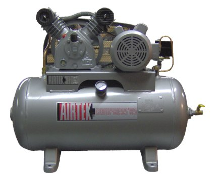 sprinkler compressor tank mounted