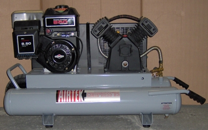 gas portable compressor