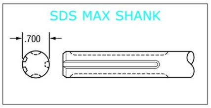 SDS Max Shank Chisels